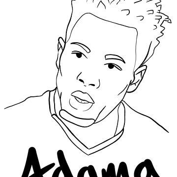 Adama Traore by iRussJ