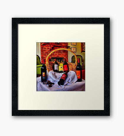 """""""From The Cellar Door"""" Framed Print"""