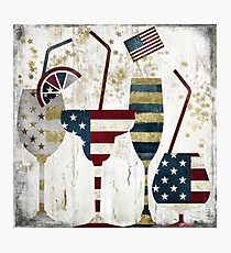 American Party Photographic Print