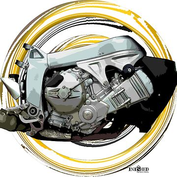 BMW K1200R Sport Inspired Engine Art Inished Productions by Melimoto