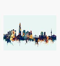 Seoul Skyline South Korea Photographic Print