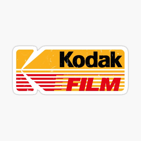 Kodak Film Sticker