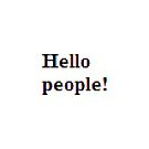 Hello people! #HelloPeople, #Hello, #People by znamenski