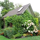 Garden Cottage by Sandra Fortier
