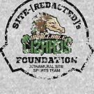 Weathered Style Unkillable Lizards - SCP Foundation Sports Team by ToadKingStudios