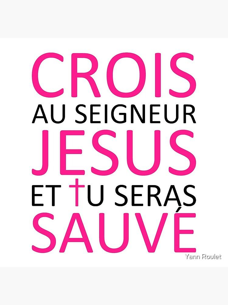 Believe Jesus Saves - Acts 16:31 by fan2zik