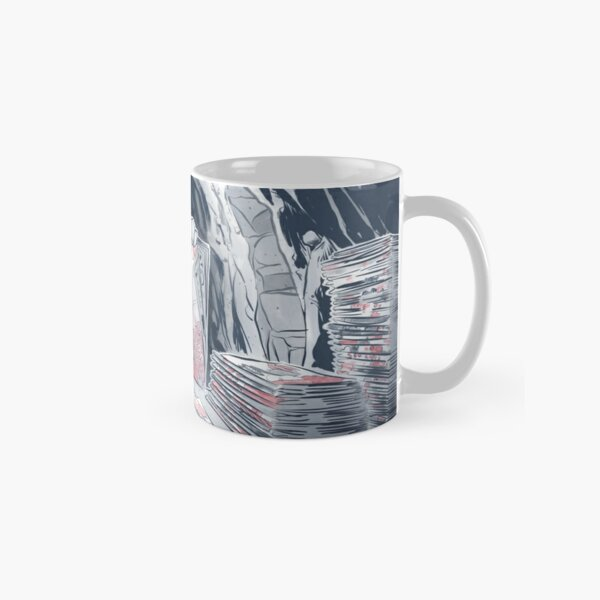 Byanza shuffles through her seed catalogs Classic Mug
