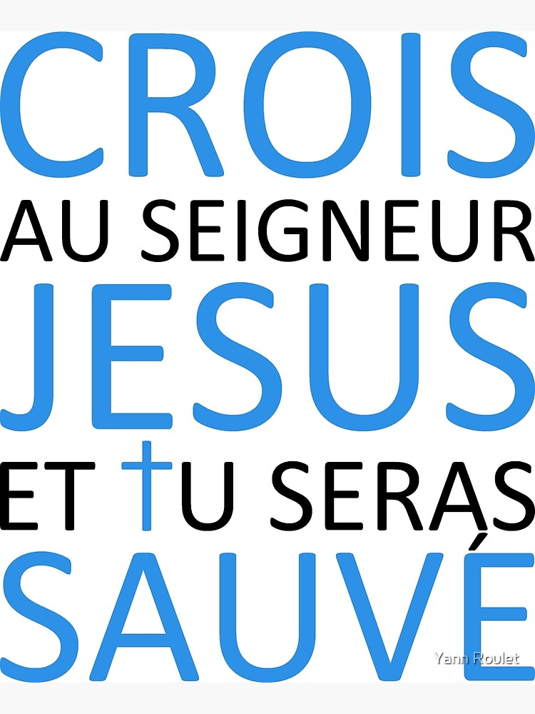 Believe Jesus Saves - Acts 16:31 by fan2zik
