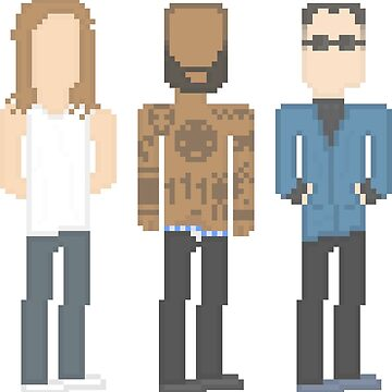 Death Grips Pixel by Akyde