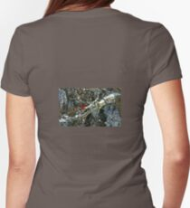 Poetic Winter Womens Fitted T-Shirt