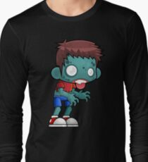 Male Cartoon Zombie Long Sleeve T-Shirt