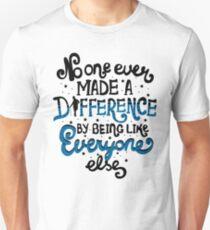 Camiseta ajustada Nadie nunca