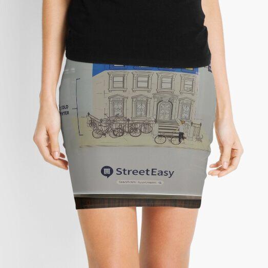 New York, Manhattan, Brooklyn, New York City, architecture, street, building, tree, car, pedestrians, day, night, nightlight, house, condominium,  Mini Skirt