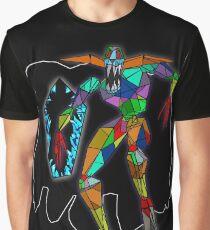 Camiseta gráfica Stained glass nightmare