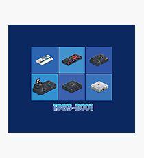 Retro Console Segaworks1983-2001 Photographic Print