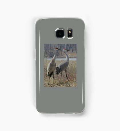 Cherokee Marsh Sandhill Cranes  Samsung Galaxy Case/Skin