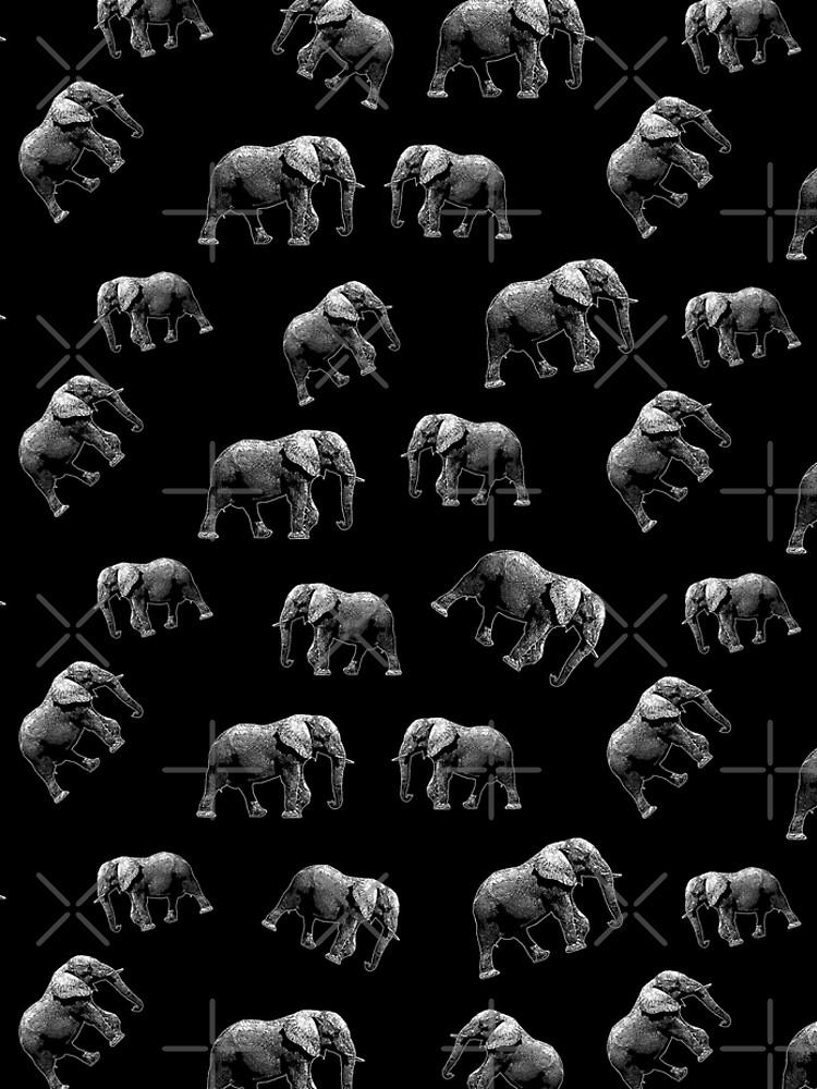 Elephant pattern by ValentinaHramov