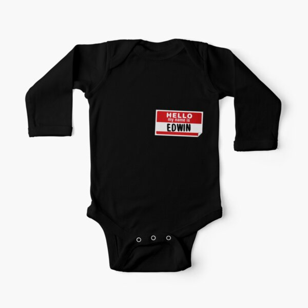 Personalized Name Toddler//Kids Short Sleeve T-Shirt My Name is Everly Hello