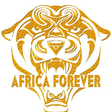 Africa Forever Gold Panther by Lucidwerx