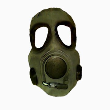 gas mask by Byronde
