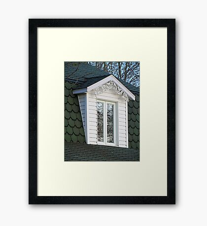 Window in the Trees Framed Print