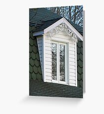 Window in the Trees Greeting Card