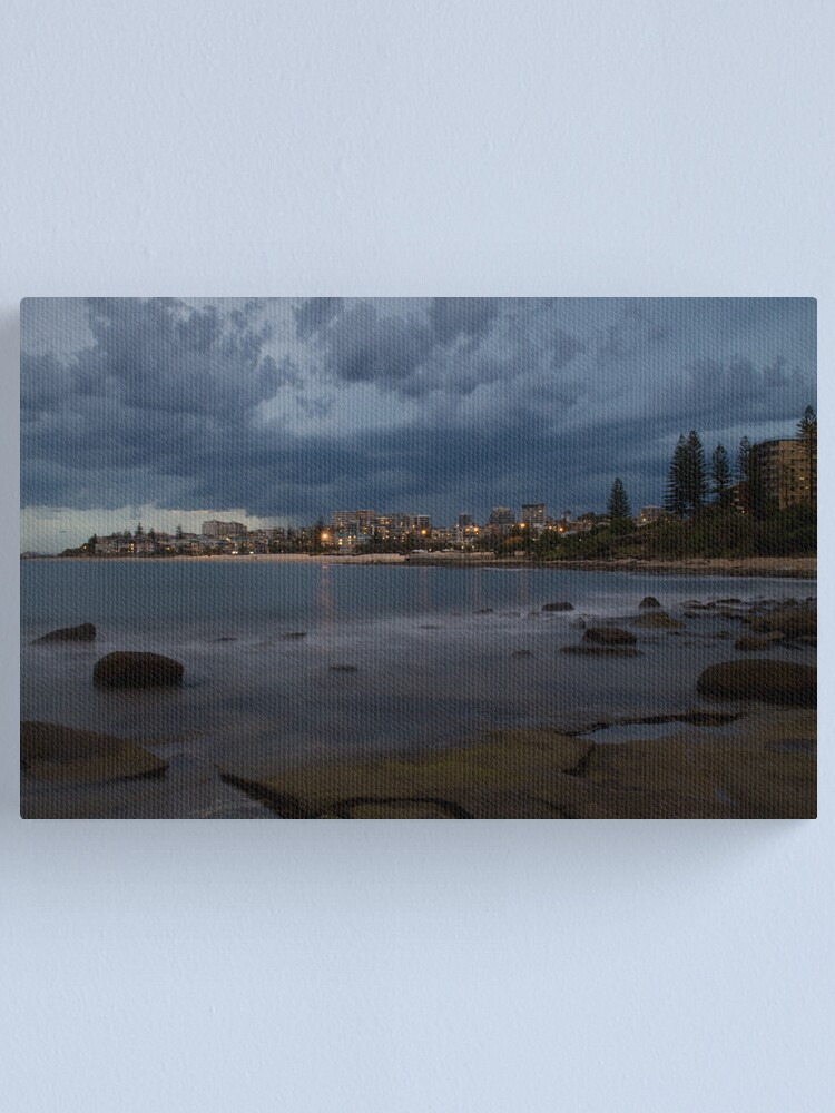 Alternate view of Stormy Night Canvas Print