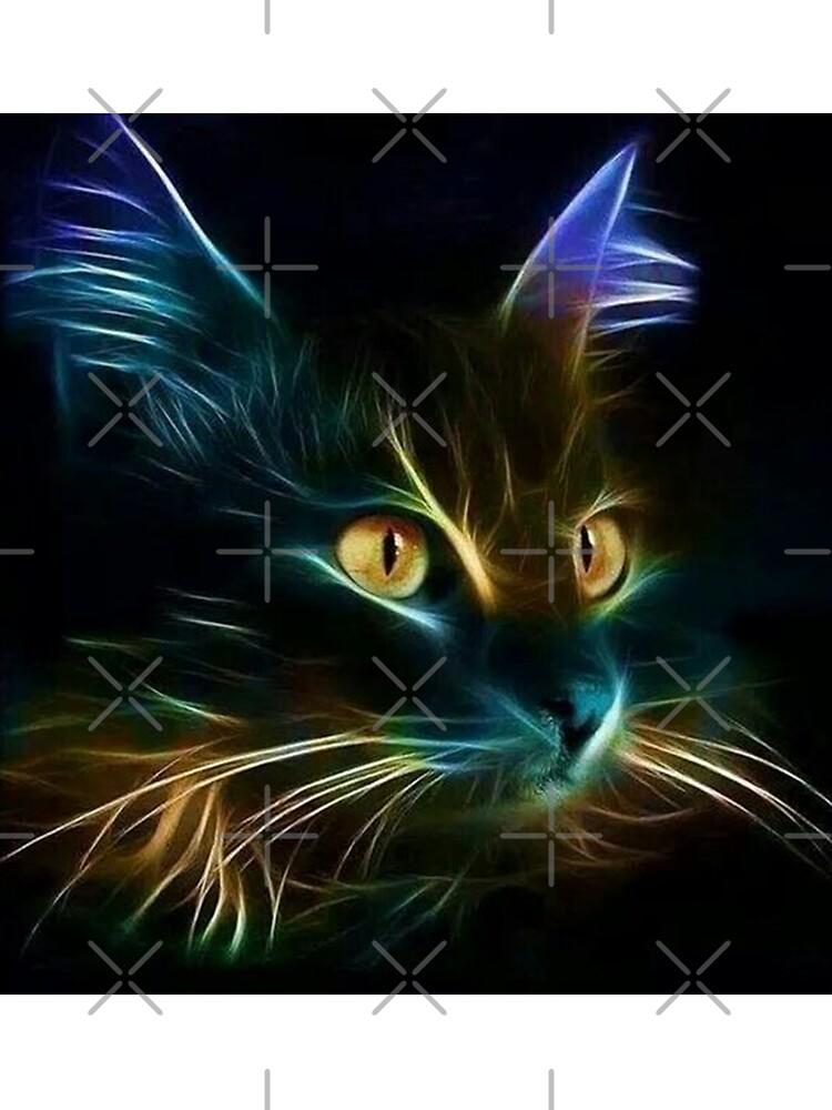Cat Neon de Rockwell47