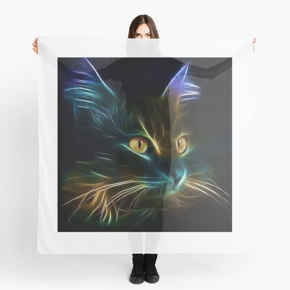 Cat Neon Pañuelo