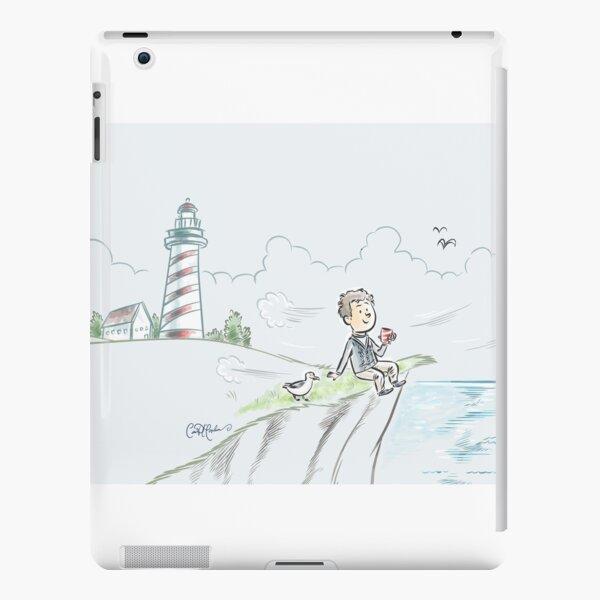 Lighthouse Coffee Break by Ian David Marsden iPad Snap Case