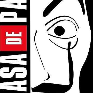 LA CASA DE PAPEL MASK by localfandoms