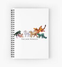 Cuaderno de espiral El Winglet de Jade