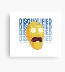 Rick and Morty stckers and more! Metal Print