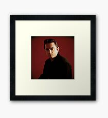 Johnny Posed Framed Print