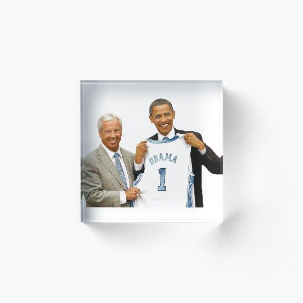 Obama & Roy Williams!! The GOATS Acrylic Block