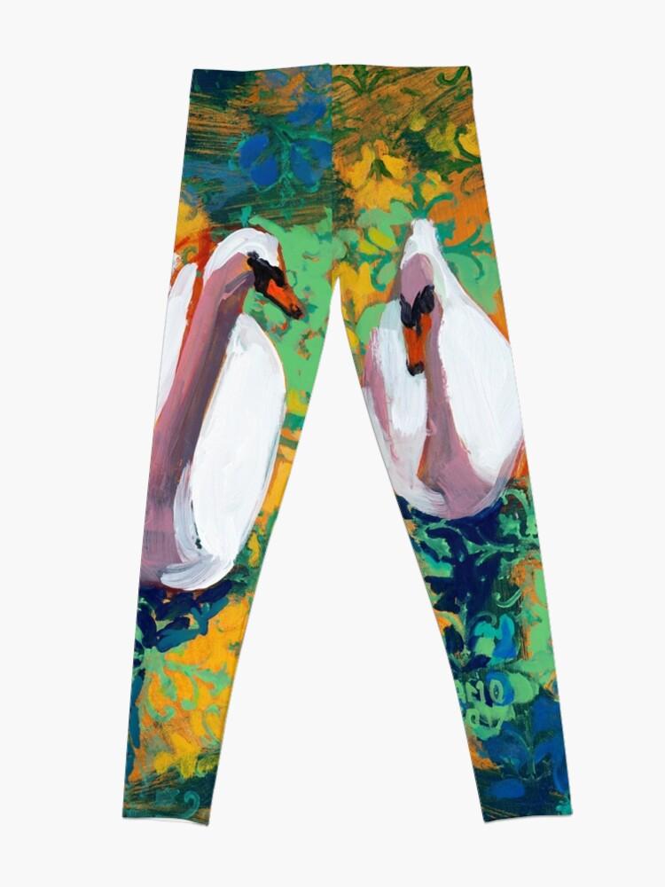 Alternate view of Four Swans Leggings
