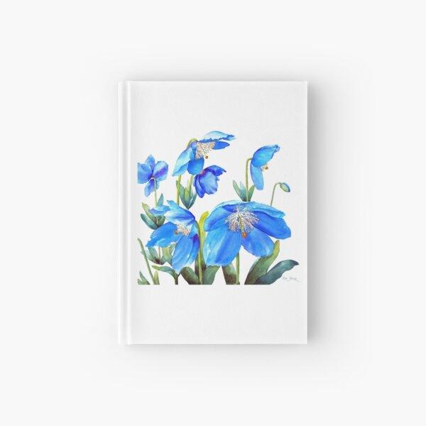 Himalayan Blue Poppies Hardcover Journal