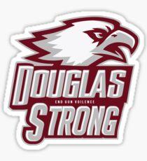 MSD Strong Douglas strong Parkland Strong Tshirt Marjory Stoneman Douglas, Florida Strong Tshirt #parklandstrong #floridastrong Support and Protest #douglasstrong #msdstrong Sticker
