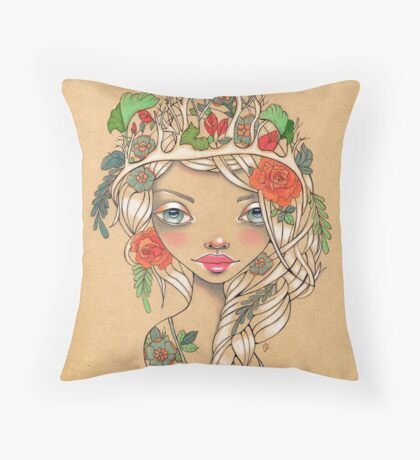 Idylewilde Throw Pillow