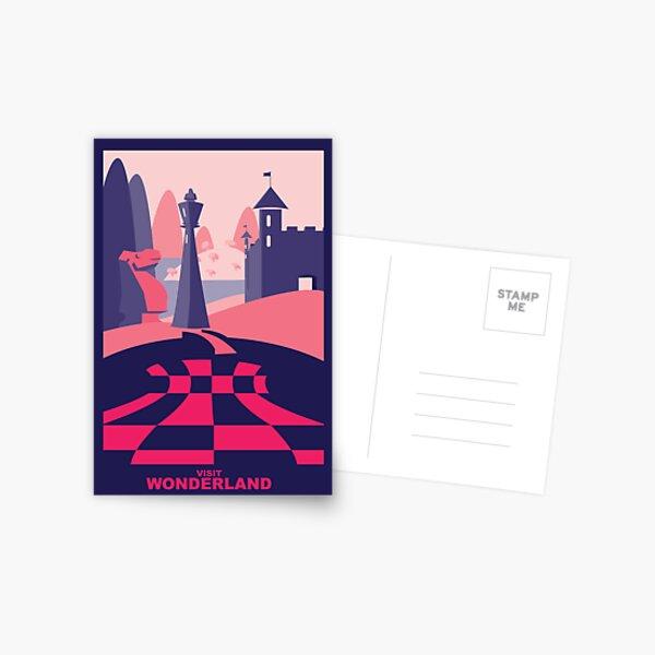 Visit Wonderland Postcard