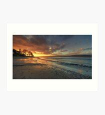 An Arnside Sunset Art Print