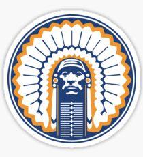 chief illiniwek Sticker