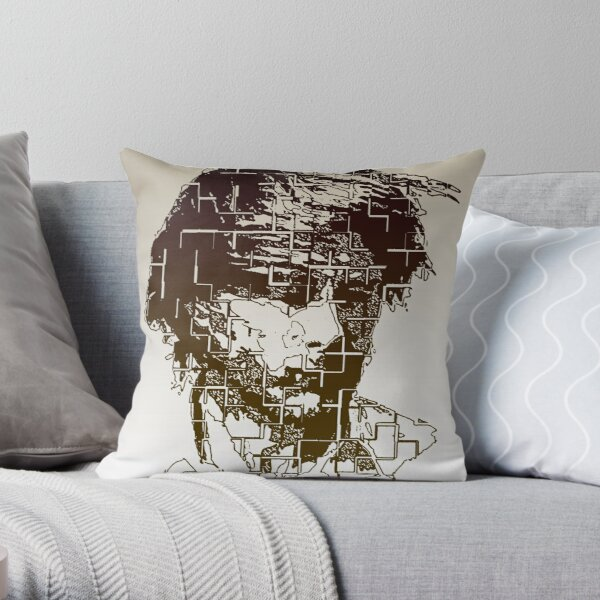 """""""Everything in its right place"""" Throw Pillow"""