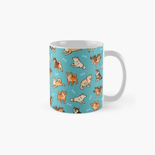 shibes in blue Classic Mug