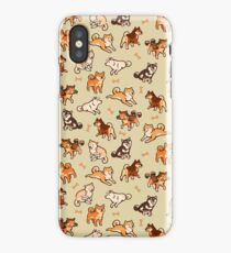 shibes in cream iPhone Case