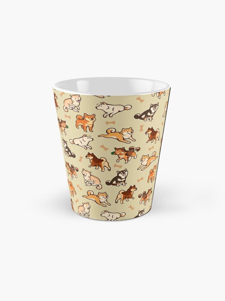 Alternate view of shibes in cream Mug
