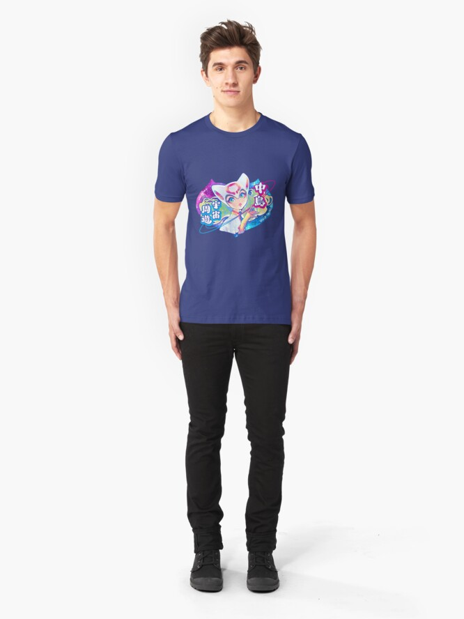 Alternate view of space tours Slim Fit T-Shirt