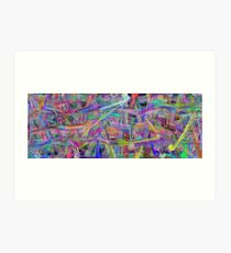 Abstract Fantasy by Leslie Harlow Art Print
