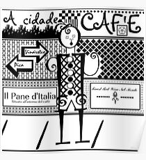 Cafe d` Italia Poster