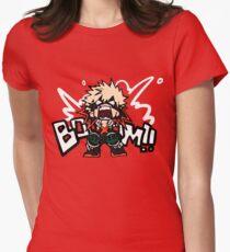 My Hero Academia: Katsuki Bakugo - BOOOM!! Women's Fitted T-Shirt